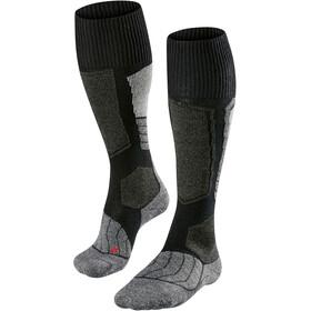 Falke SK1 Skiing Socks Men grey/black
